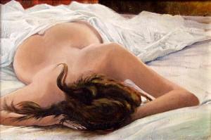 Секс с сонной женщиной