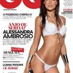 Алессандра Амбросио в апрельском номере GQ