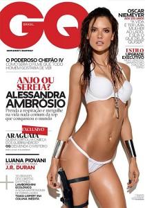 Алессандра Амбросио в журнале GQ (фото 1)