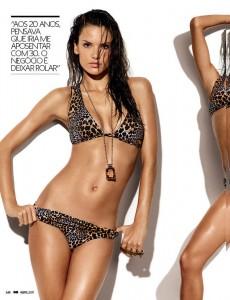 Алессандра Амбросио в журнале GQ (фото 2)