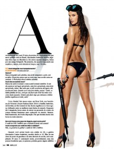 Алессандра Амбросио в журнале GQ (фото 4)