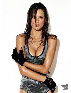 Алессандра Амбросио в журнале GQ (фото 6)