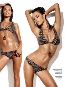 Алессандра Амбросио в журнале GQ (фото 7)