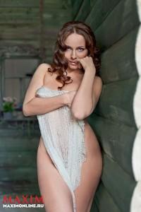 Екатерина Гусева обнажилась для Maxim (фото 2)