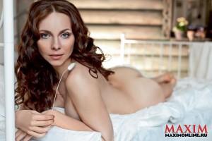 Екатерина Гусева обнажилась для Maxim (фото 5)
