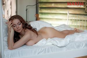 Екатерина Гусева обнажилась для Maxim (фото 6)