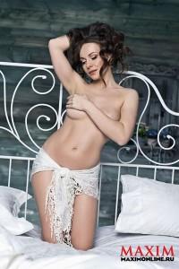 Екатерина Гусева обнажилась для Maxim (фото 7)