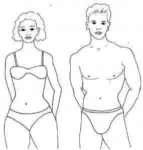 Форма тела