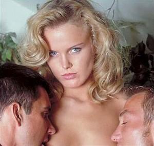 Секс с двумя мужчинами