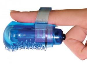 Клитоиальная насадка-стимулятор на палец