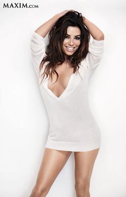 Ева Лонгория в фотосессии для Maxim